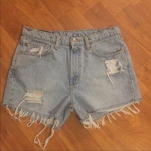 High Waisted Vintage Ralph Lauren Shorts
